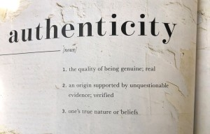 Authenticity - source: Magnolia Journal